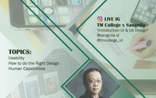 Brosur UI UX Fix LIVE IG with Sangnila