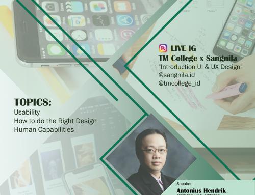 Talk Show TMLC dengan Sangnila Tentang Introduction UI/UX : Behind Every Great User Interface