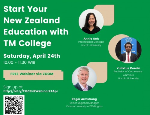 [Webinar Invite] Start Your New Zealand Education with TM College #2