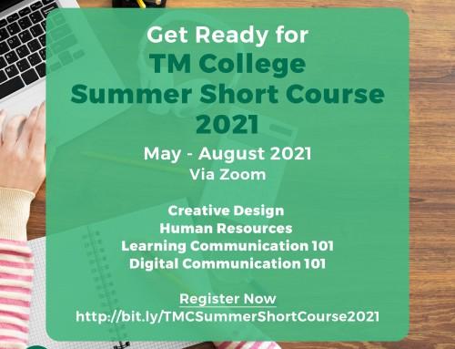 TM College Summer Short Course 2021!