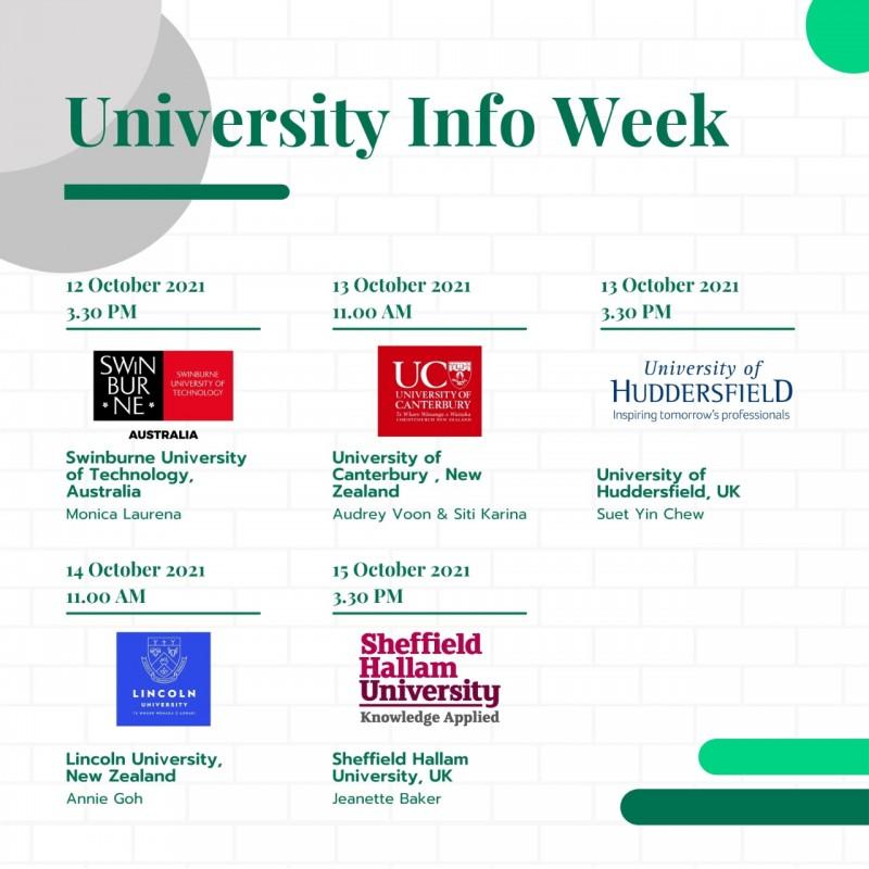 University Info Week 1