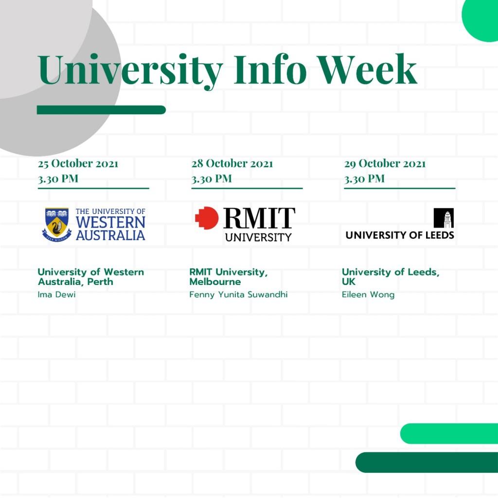 University Info Week 2